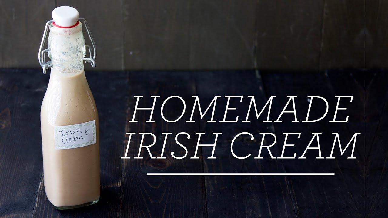 Homemade Irish Cream | 5 Minute Recipe