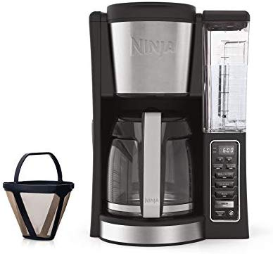 Ninja 12-Cup Programmable Coffee Maker with Classic and Rich Brews, 60 oz. Water Rese…