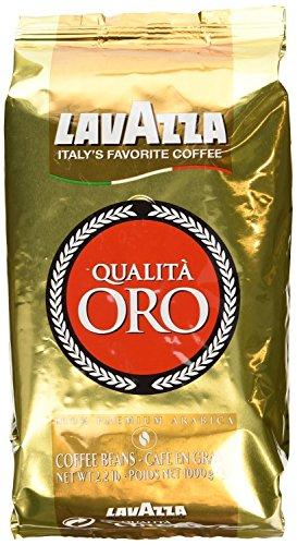Lavazza Qualita Oro Italian Coffee Whole Beans 2lb Pack Of 2
