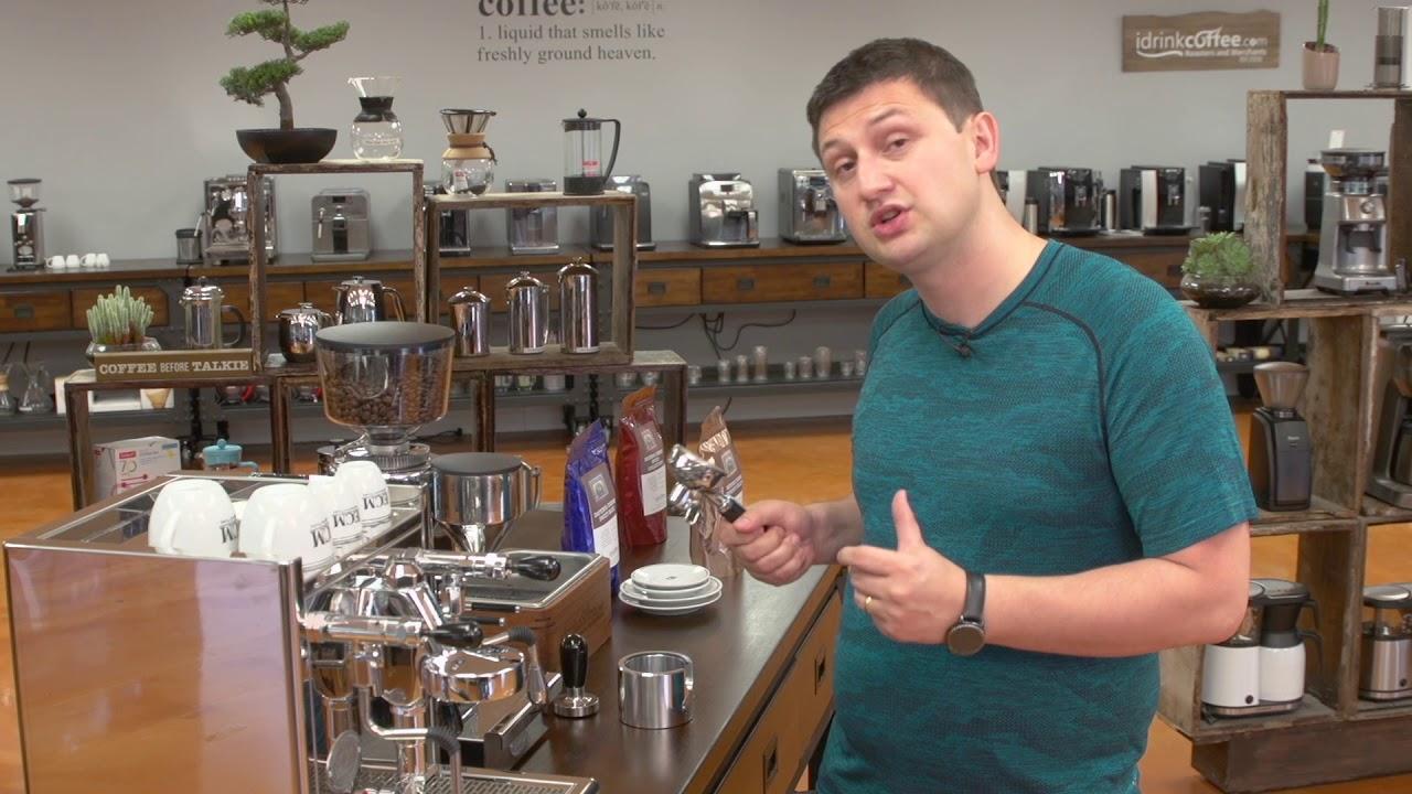 iDrinkCoffe.com Rewiew – ECM Techinka IV Profi Espresso Machine