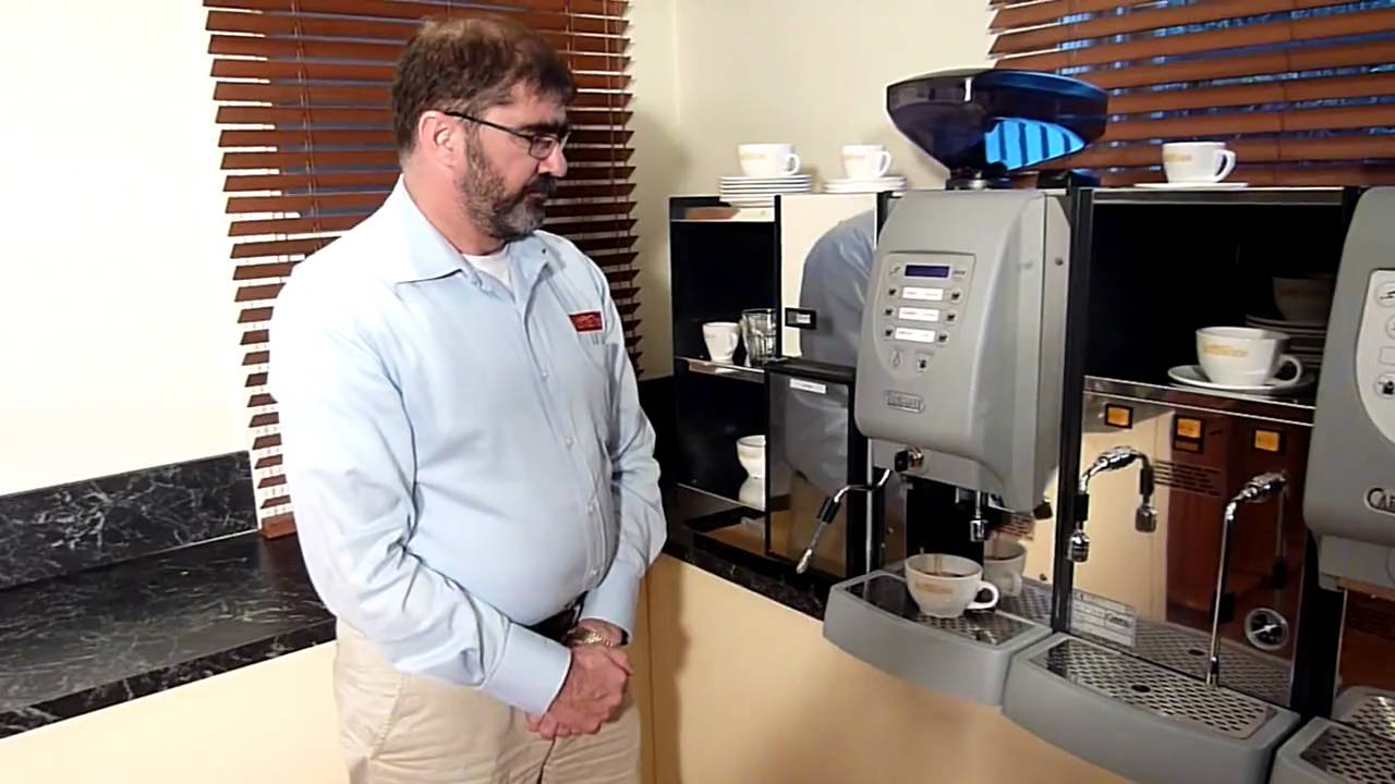 Flat White Coffee Extraction From The Carimali Multi Automatic Coffee Machine