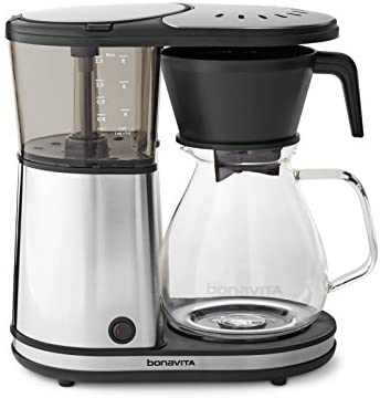 Bonavita BV1901GW 8-Cup One-Touch Coffee Maker Featuring Glass Carafe and Warming Pla…