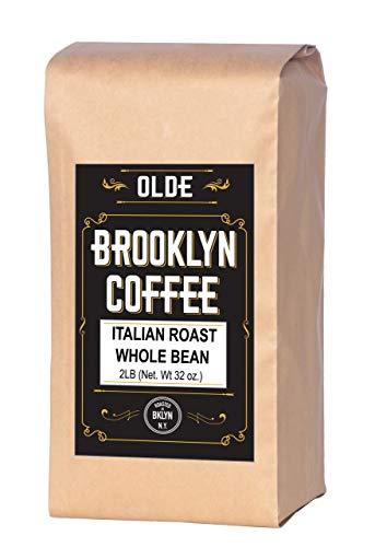 Italian Dark Roast Whole Bean Coffee – 2LB Bag For A Classic Black Coffee,